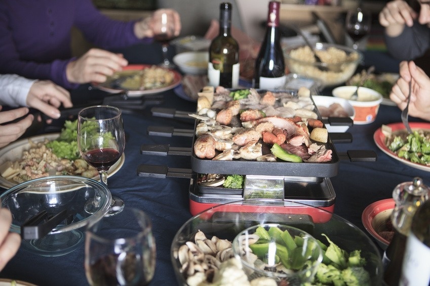 kleines raclette geräte