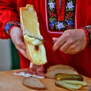 Raclette ganz klassisch