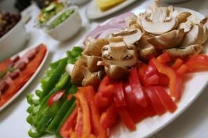 Raclette Zutaten Gemüse
