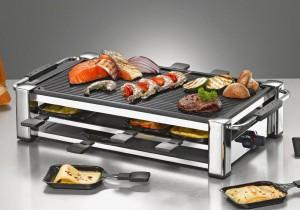 Rommelsbacher RCC 1500 Fashion Raclette Grill aufgelegt